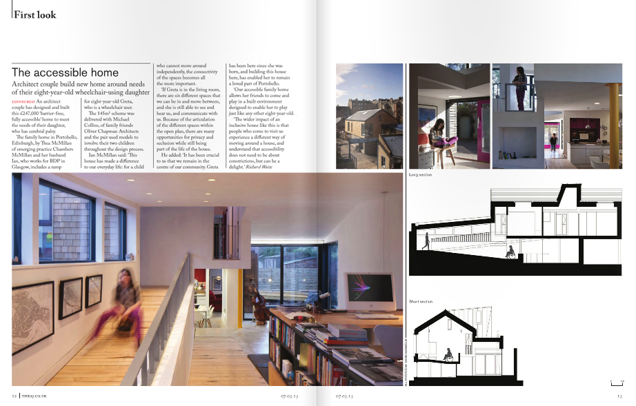 Aj Article Ramp House Chambers Mcmillan Architects